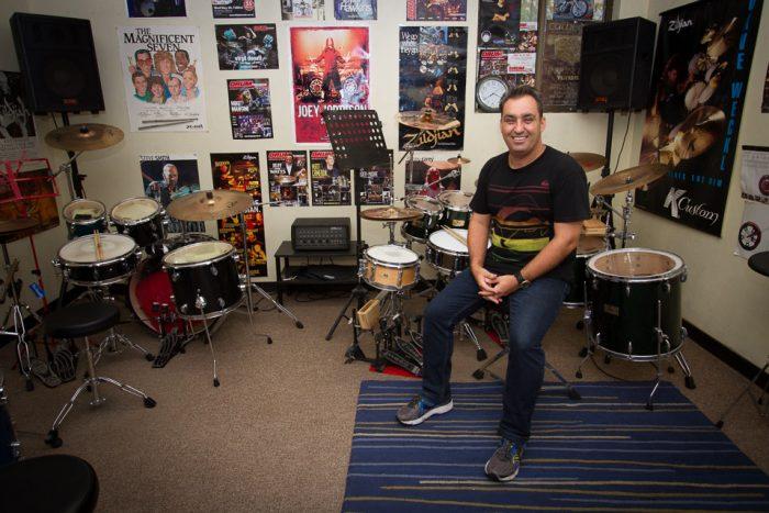 Brad's Drumming