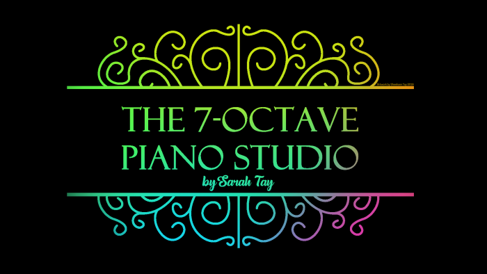 The 7-Octave Piano Studio by Sarah Tay