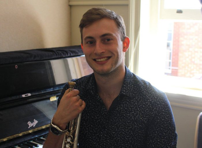 Kyle Eardley Brass/Piano/Bass Guitar tutoring