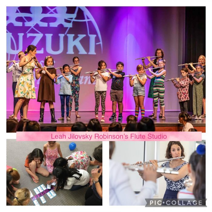 Leah Jilovsky Robinson's Flute Studio